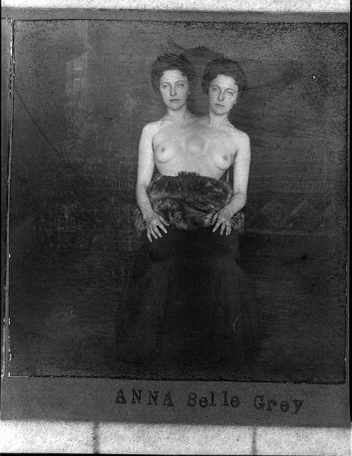 ca. 1901, turn of the century trick photography