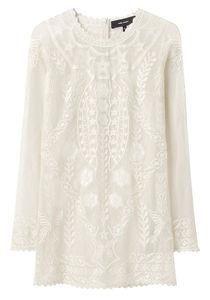 Isabel Marant Diane Long Sleeved Lace Top La Garconne