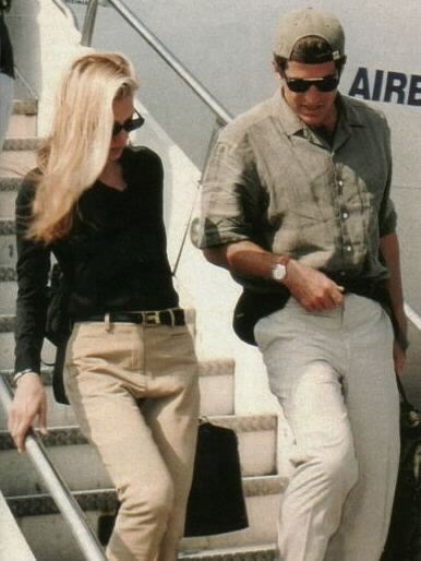 Carolyn Bessette-Kennedy and John Kennedy Jr