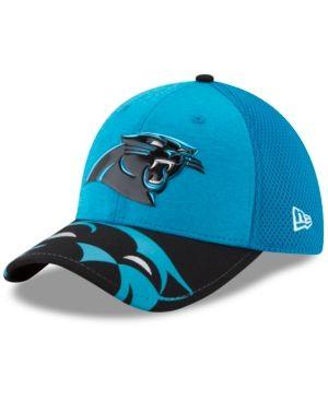 New Era Carolina Panthers 2017 Draft 39THIRTY Cap - LightBlue/Black L/XL