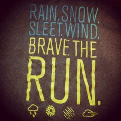 I have an under armour shirt thats neon yellow that says this....