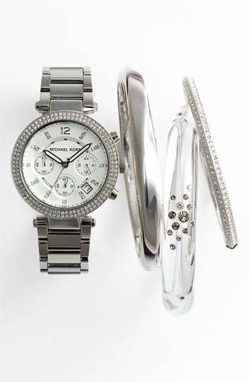 BRIMI LEW: Michael Kors Watch, Alexis Bittar Bangle