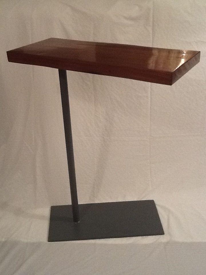 Side TableLaptop Bedside Swivel Table  Steelwood Design