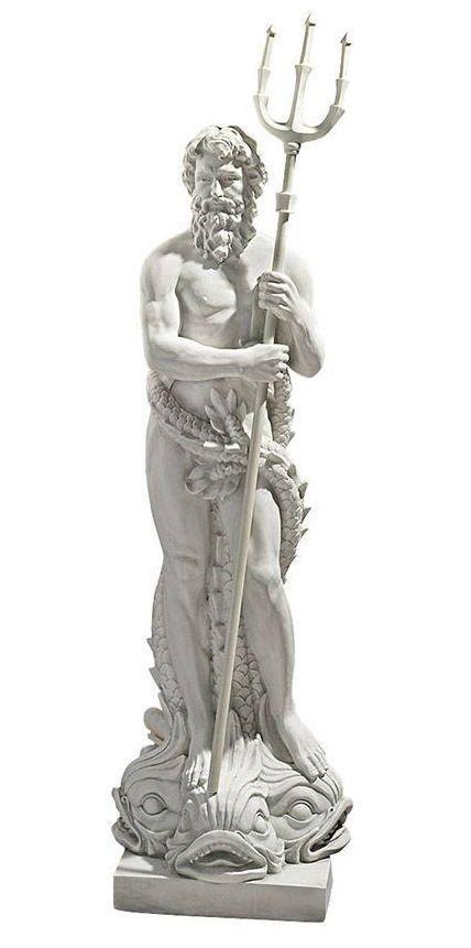 "62"" Poseidón Neptuno Dios Griego Romano del mar escultura estatua réplica | Arte, Esculturas de bellas artes | eBay!"