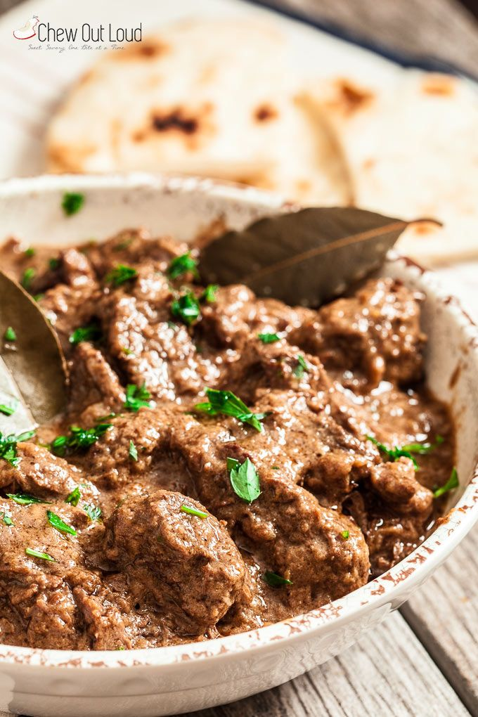 Indian Style Rogan Josh - Chew Out Loud                                                                                                                                                                                 More