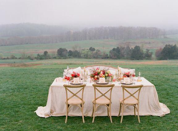 Fall Inspired Wedding Shoot | Location Pippin Hill Farm, photographer Jen Fariello, produced by Easton Events