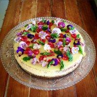 Opskrift på den lækreste bagte, ostekage :) Se den på www.marieblog.dk
