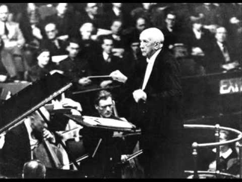"""Richard Strauss conducts """"Mondscheinmusik"""" from Capriccio by Richard Strauss Orchester des Bayerischen Rundfunks Richard Strauss, conductor München, 17.VII.1..."""