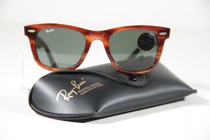RAY BAN WAYFARER by BAUSCH & LOMB Vintage Sunglasses Brown ...