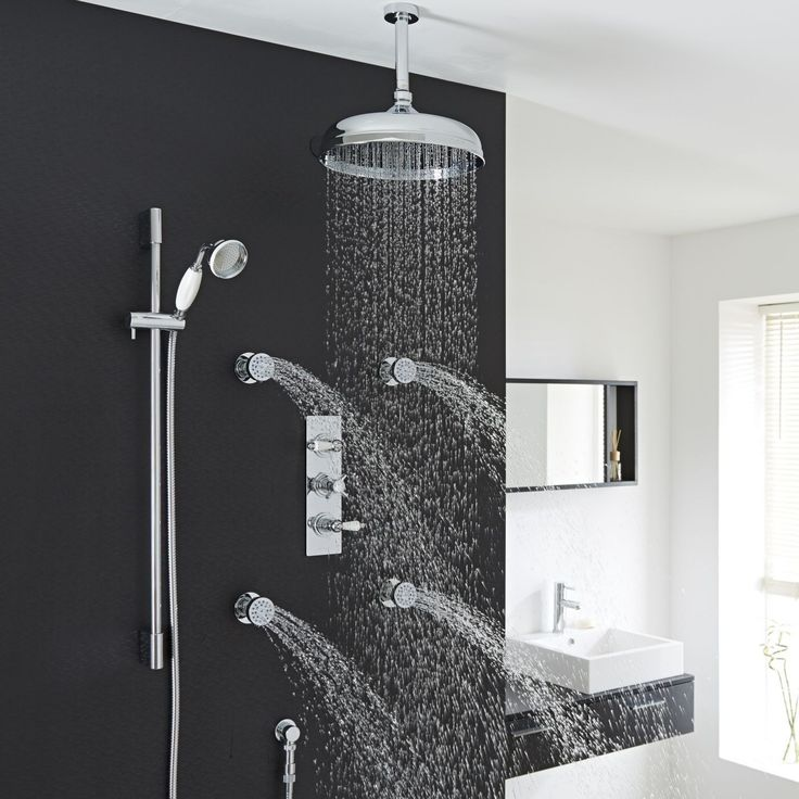 mixer bathroom taps bath hand systems chrome free filler itm held standing faucet shower head
