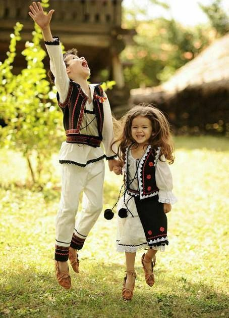 Happy kids from #Romania