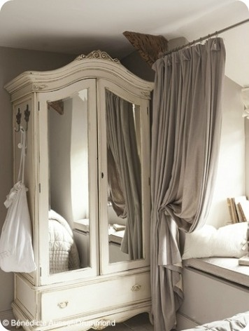 12 best ideas about shabby chic window treatments on for Deco chambre cottage anglais