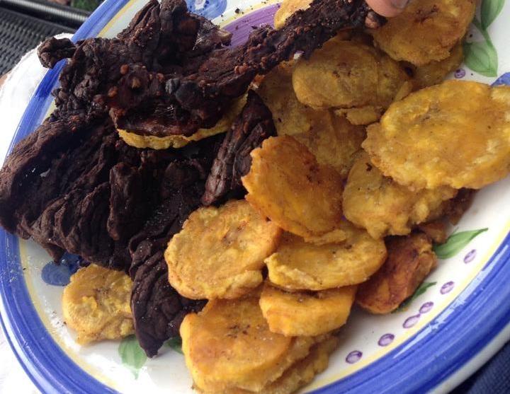 Bofe con fritos comidas dominicanas pinterest seco for Cocinar con 20 soles