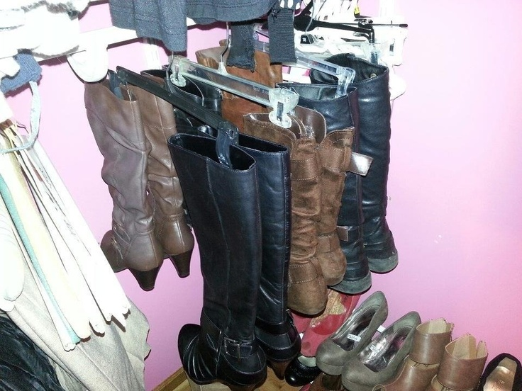 A Pant Hanger To Hang Your Boots Up On. Closet OrganizationOrganization  IdeasStorage ...