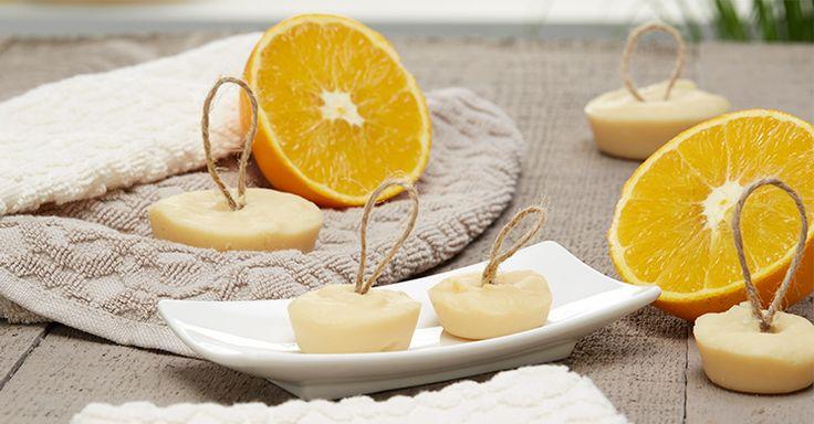 Seife mit Honig und Orange selber machen