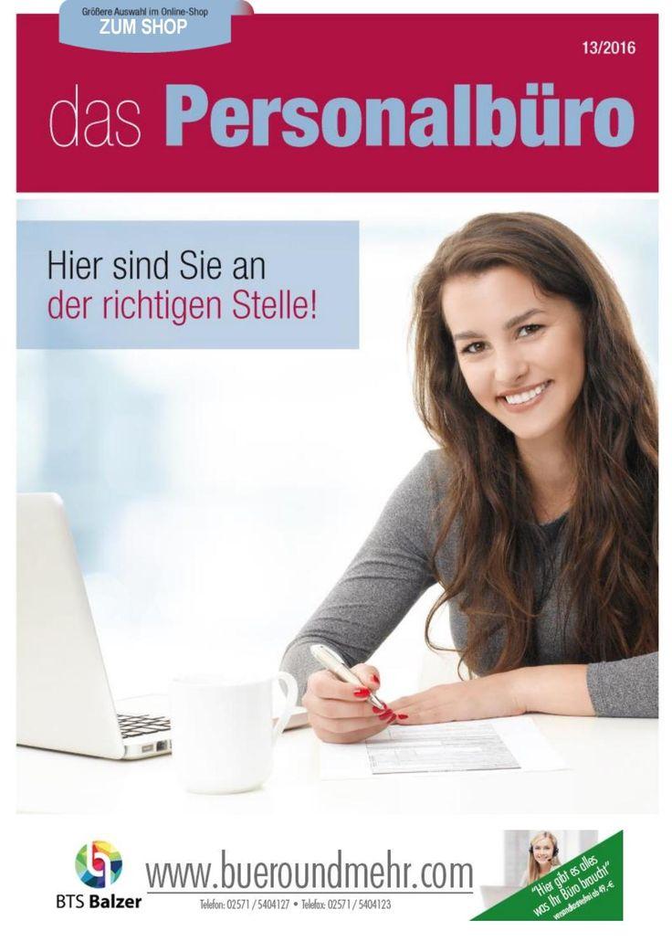 Themenwelt Das Personalbüro - btsbalzer.de - shop.bueroundmehr.com 2016