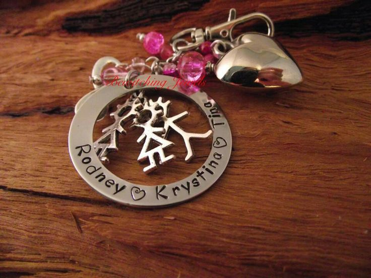 Family keychain Bewitching jewels