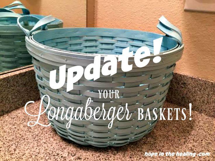 Update your Longaberger baskets!