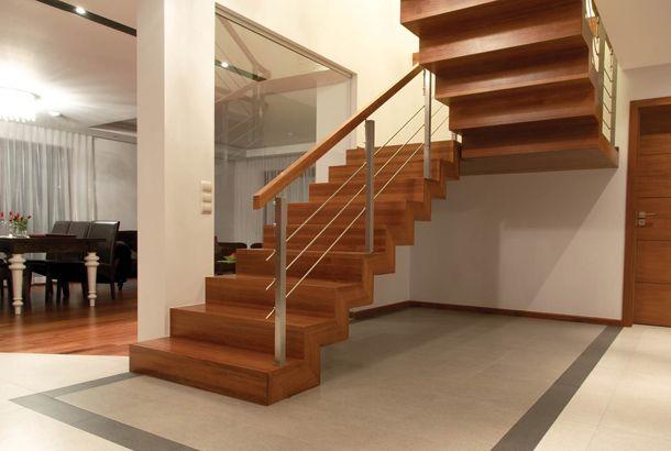 schody o konstrukcji drewnianej