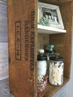 Vintage Rustic Industrial Bathroom Reveal - Refresh Living