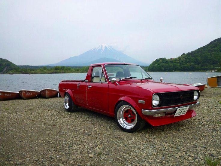 富士とサニトラ