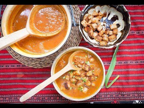 Reteta supa de chimion. Aproape traditionala. Saseasca. - YouTube