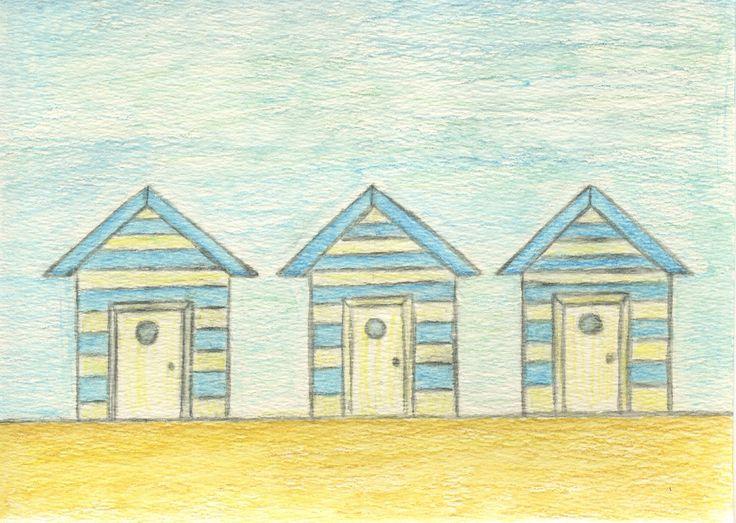 Beach Huts. Casitas de Playa.