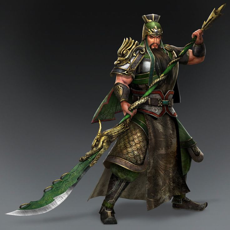 Guan Yu & Weapon (Shu Forces)