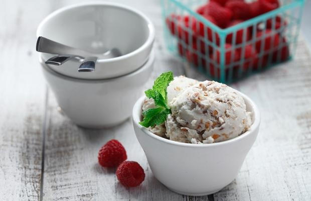 Coconut-Cardamom Rosewater Red Lentil Ice Cream: Desserts, Recipe, Food, Coconut Cardamom Rosewater, Ice Cream, Lentil Ice, Red Lentil, Rosewater Red, Lentils