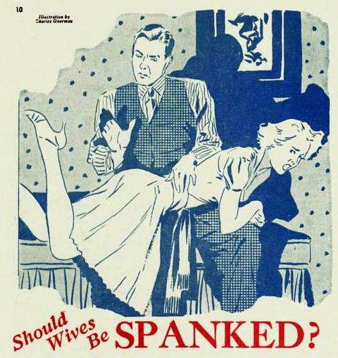 Spank your wife well