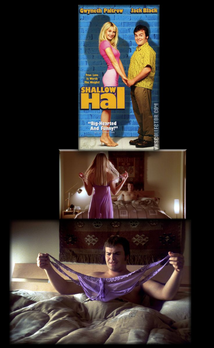 """••Shallow Hal•• 2001-11-09 Fox • compilation by millereves@me.com • stars: Jack Black as Hal + Gwyneth Paltrow as Rosemary • dir/prod/writ: Peter & Robert Farrelly •Tagline: """"True Love Is Worth The Weight!"""" • storyline: A shallow man falls in love with a 300 pound woman because of her """"inner beauty"""". • wiki: https://en.wikipedia.org/wiki/Shallow_Hal • imdb: http://www.imdb.com/title/tt0256380/?ref_=nv_sr_1 •  (3240×5256px! ; )"""