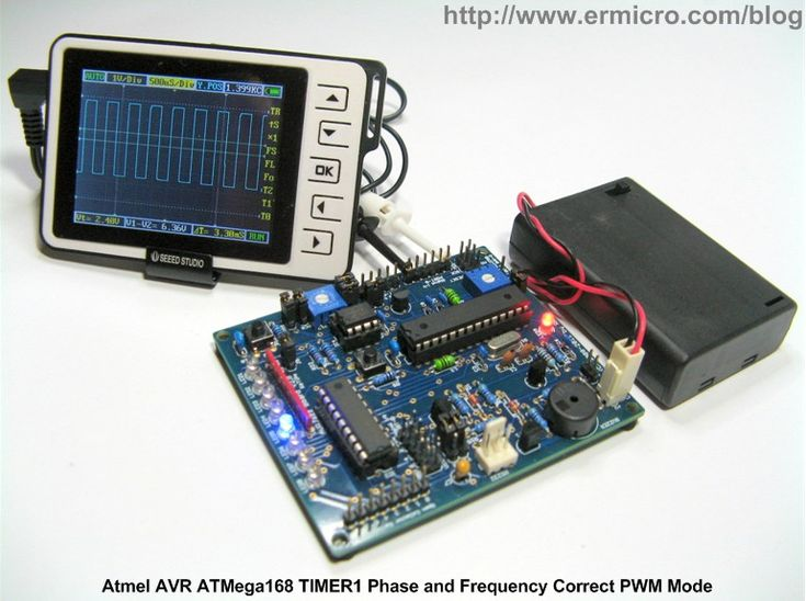 Working with Atmel AVR Microcontroller Basic Pulse Width Modulation (PWM) Peripheral | ermicroblog