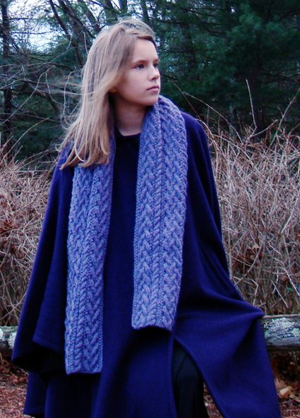 1000+ images about Knitted, Scarfs and Stoles on Pinterest Cable, Stitches ...