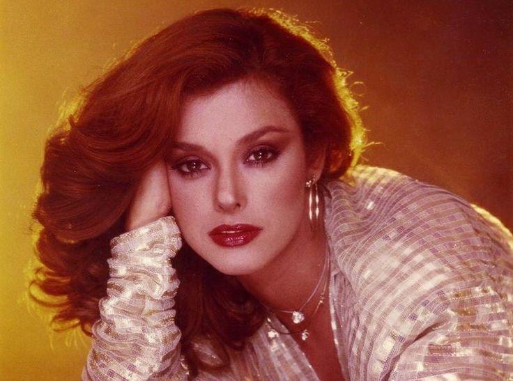 """Lucía Méndez as Fernanda in """"Colorina"""" 1980."""