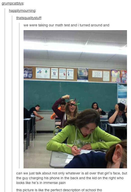 16 Perfect Snapshots Of The American Schooling System - BuzzFeed Mobile lol some are bad but some are so funny! Link!