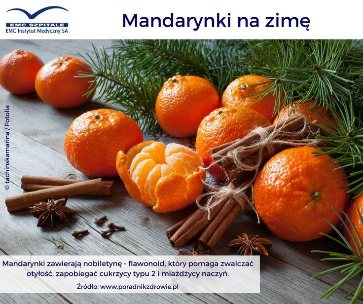 Mandarynki idealne na zdrowie zimą :) #emc #emcszpitale #manadrynki