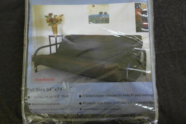 $45.99 Futon mattress cover; Amazon.com: OctoRose Full Size Bonded Classic Soft Micro Suede Futon Mattress Sofa Bed Cover (Black): Home & Kitchen