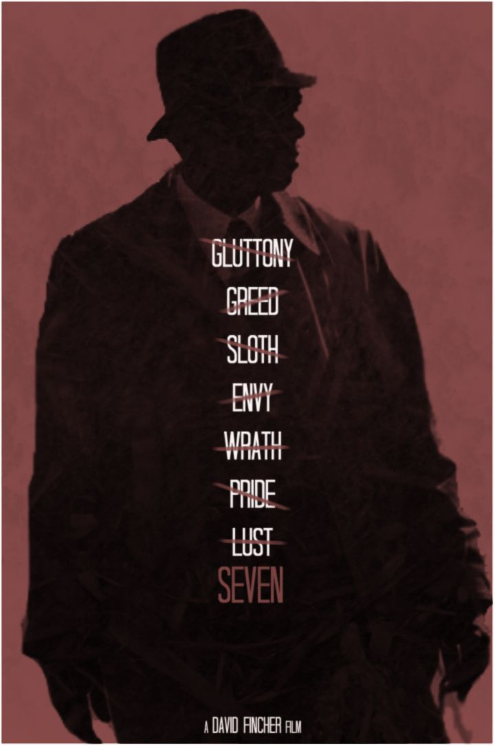 Seven - movie poster