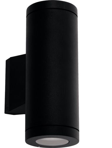 Metro Up/Down Wall Light - Black, Exterior Lights, Tubular Wall Lights, New Zealand's Leading Online Lighting Store