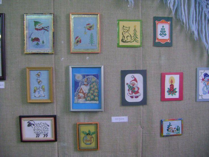 Мои работы на выставке