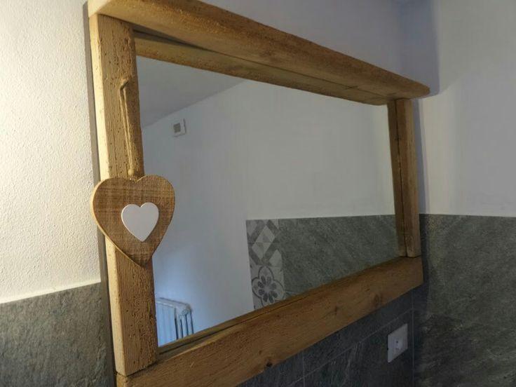 Specchio in bagno Taverna Romantica