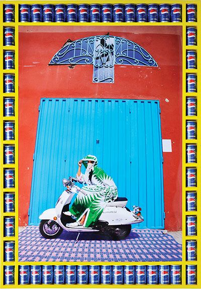 Female Motorcycle Gangs of Morocco. Credit: Hassan Hajjaj/Taymour Grahne Gallery, NY Nisrin (Source: http://www.theguardian.com/artanddesign/gallery/2014/feb/06/morocco-motorbike-women-pictures-kesh-angles-hajjaj?CMP=twt_gu#/?picture=428998669&index=9)