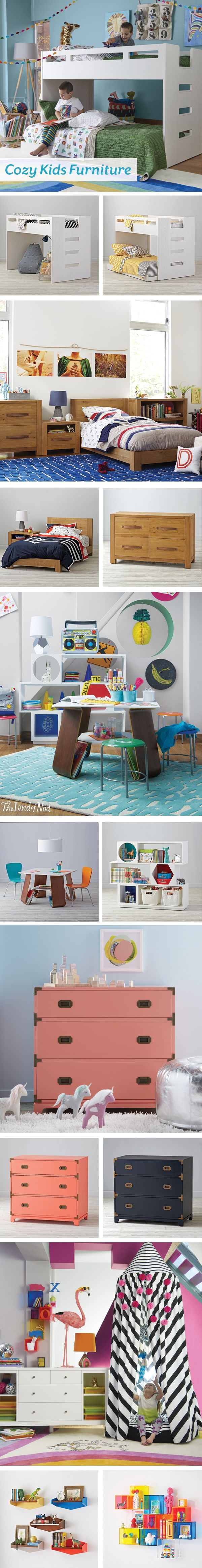Refresh your kids bedroom with our new spring furniture collection. Our lineup…