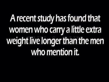 Women who carry a little extra weight
