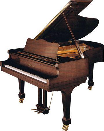 Charles R. Walter Piano