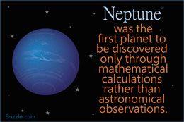 Neptune planet fact