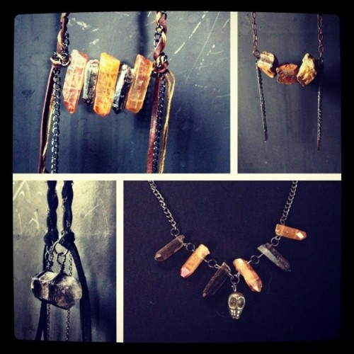 New Designs Up Raw Tiger S Eye Pyrite Skulls Wire