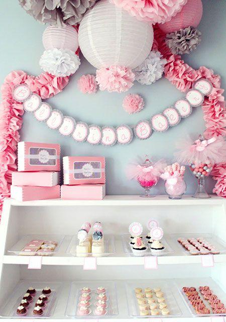 La Fiesta de Olivia   Una alternativa elegante a decorar con globos   Decoración de fiestas infantiles, bodas y eventos