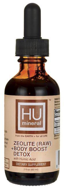 Zeolite (Raw) + Body Boost Detox with Humic Acid