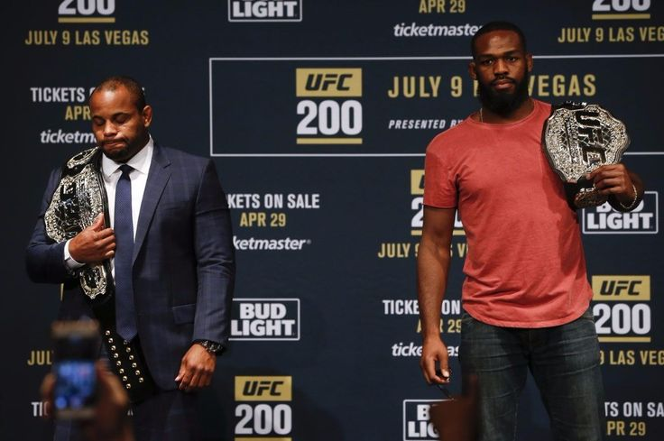 """Former UFC #Champion @jonnybones says that maybe him and @dc_mma can be friends under certain conditions.  Jones stated those conditions as : """"This rivalry ends at UFC 214 and after [the fight] I honestly have no problem with Daniel Cormier. If he wants to be friends be a sportsman and realize I'm just the better fighter that would be great. It would show a lot about who he is. I doubt he'll do that though based on how he acted the first time I beat him.  I'd be willing to bet the house he's…"""